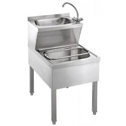 Combinaison lave-mains/évier