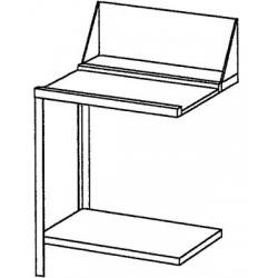 Table de glissement, gauche