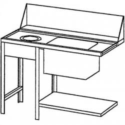 Table de tri, gauche