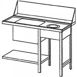 Table de tri, droite