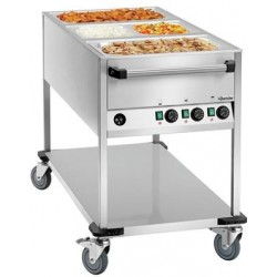 Chariot bain marie 3 cuves...