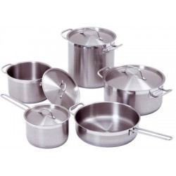 Set de 9 casseroles induction