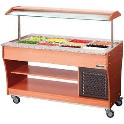 Chariot buffet froid à salades